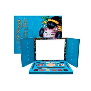 Ed Hardy Color Geisha Makeup Set - BLue
