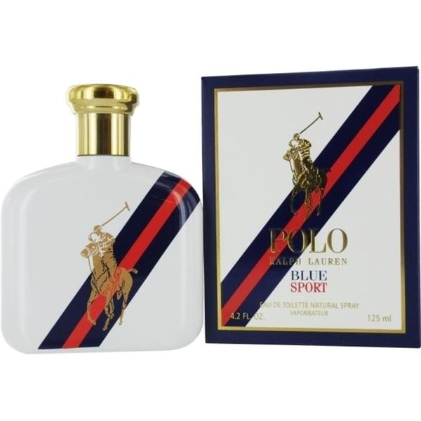 1ae7992a Shop Ralph Lauren Polo Blue Sport Men's 4.2-ounce Eau de ...