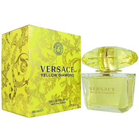 Versace Yellow Diamond Women's 3-ounce Eau de Toilette Spray - N/A