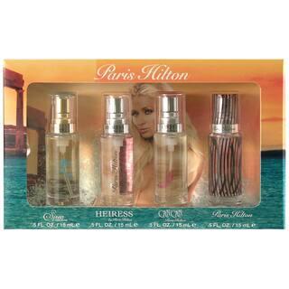 Paris Hilton Variety Women's 4-Piece Mini Gift Set https://ak1.ostkcdn.com/images/products/7499213/P14941685.jpg?impolicy=medium