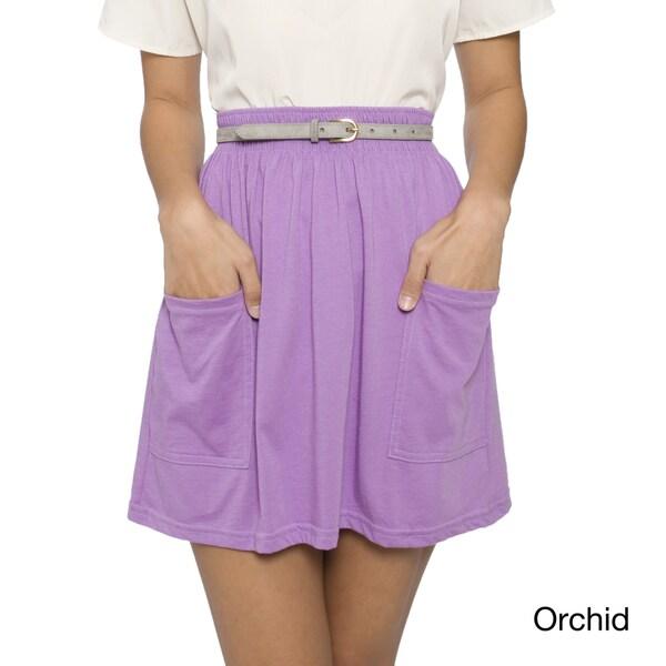 American Apparel Women's Jersey Pocket Skirt