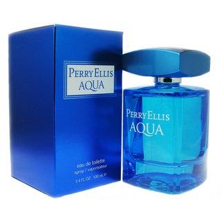 Perry Ellis Aqua Men's 3.4-ounce Eau de Toilette Spray