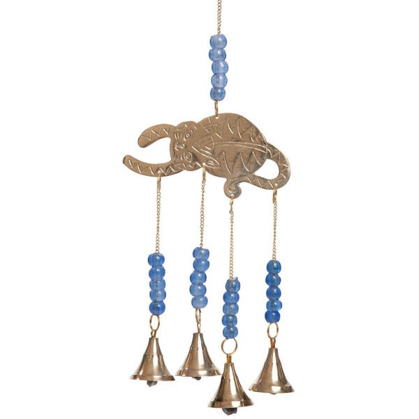 Brass Bell Cat Wind Chime (India)