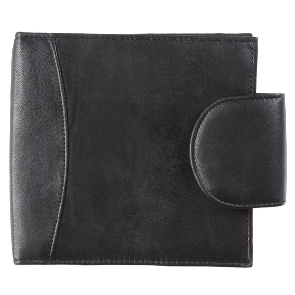 Boston Traveler Tab Closure Leather CD Holder