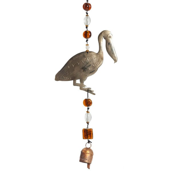 Handmade Pelican-A-Day Wind Chime (India)