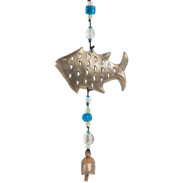 Holy Fish Wind Chime , Handmade in India