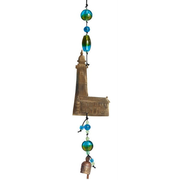 Handmade Split Rock Lighthouse Wind Chime (India)