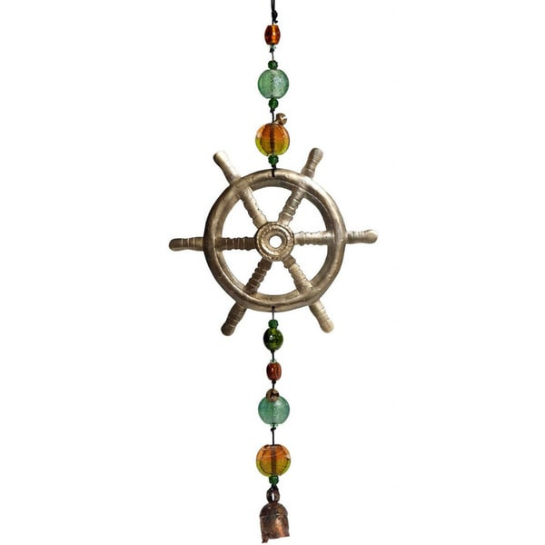 Handmade Captain of the Sea Wind Chime (India)