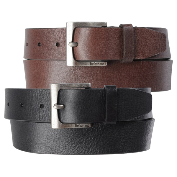 Timberland Men's Casual Genuine Leather Belt