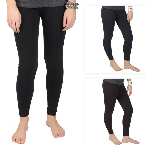 Journee Collection Juniors Fleece Lined Banded Waist Leggings