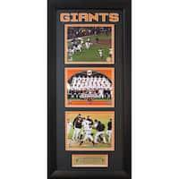 San Francisco Giants 2012 World Series Champions Three Photo Frame (15 x 35 )
