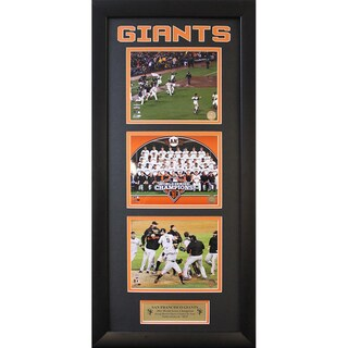 San Francisco Giants 2012 World Series Champions Three Photo Frame (15 x 35 )