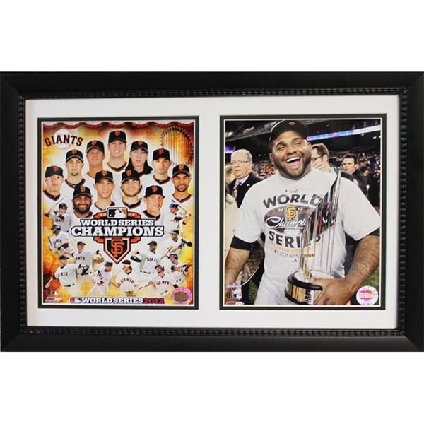 2012 San Francisco Giants Championship Deluxe Photograph Frame (12x18)
