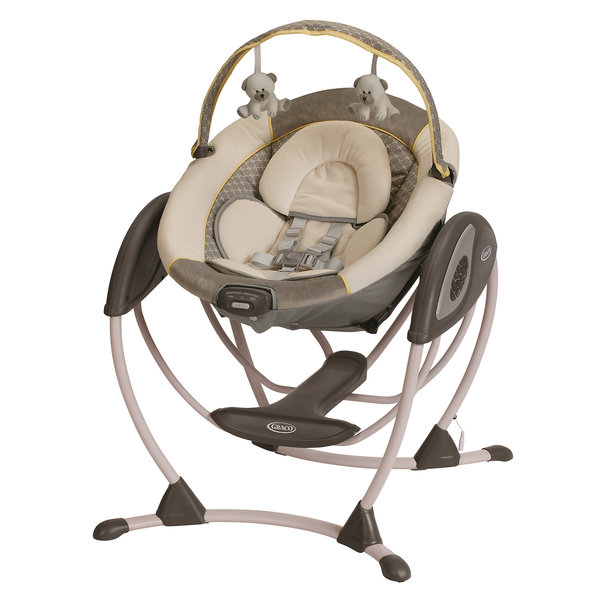 Shop Graco Glider Lx Swing In Peyton Free Shipping Today