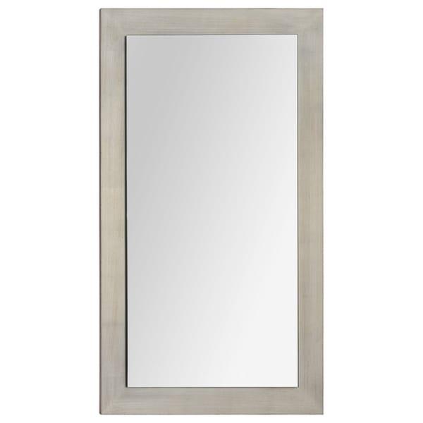 Ren Wil 'Francine' Silver Wood Mirror