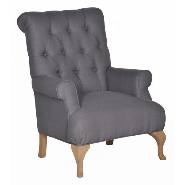 Kosas Home Madeline Grey Club Chair