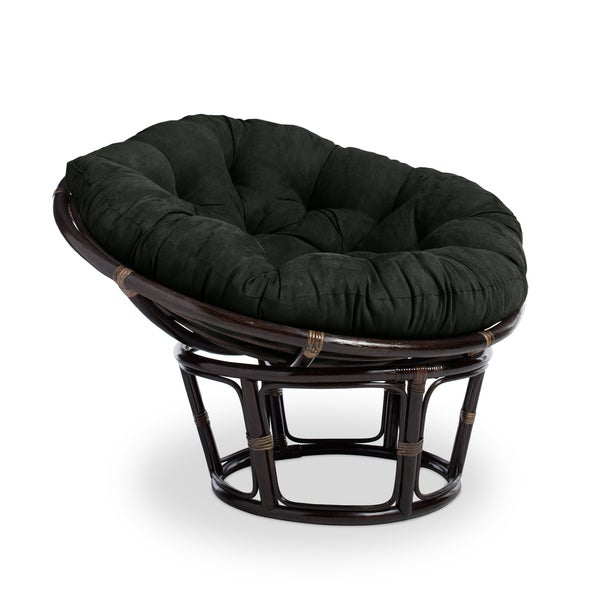 International Caravan Bali 42 Inch Papasan Chair With Cushion