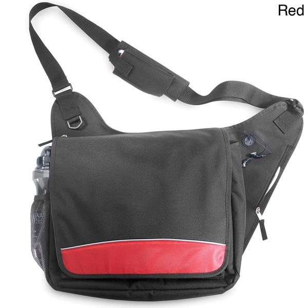 G. Pacific 16.5-inch Lightweight Messenger Bag