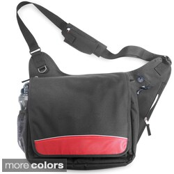 Shop G Pacific 16 5 Inch Lightweight Messenger Bag Free