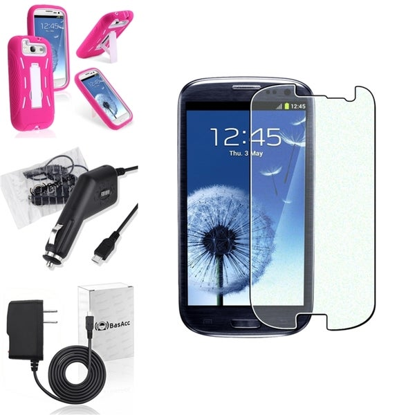 BasAcc Case/ Screen Protector/ Chargers for Samsung© Galaxy S3