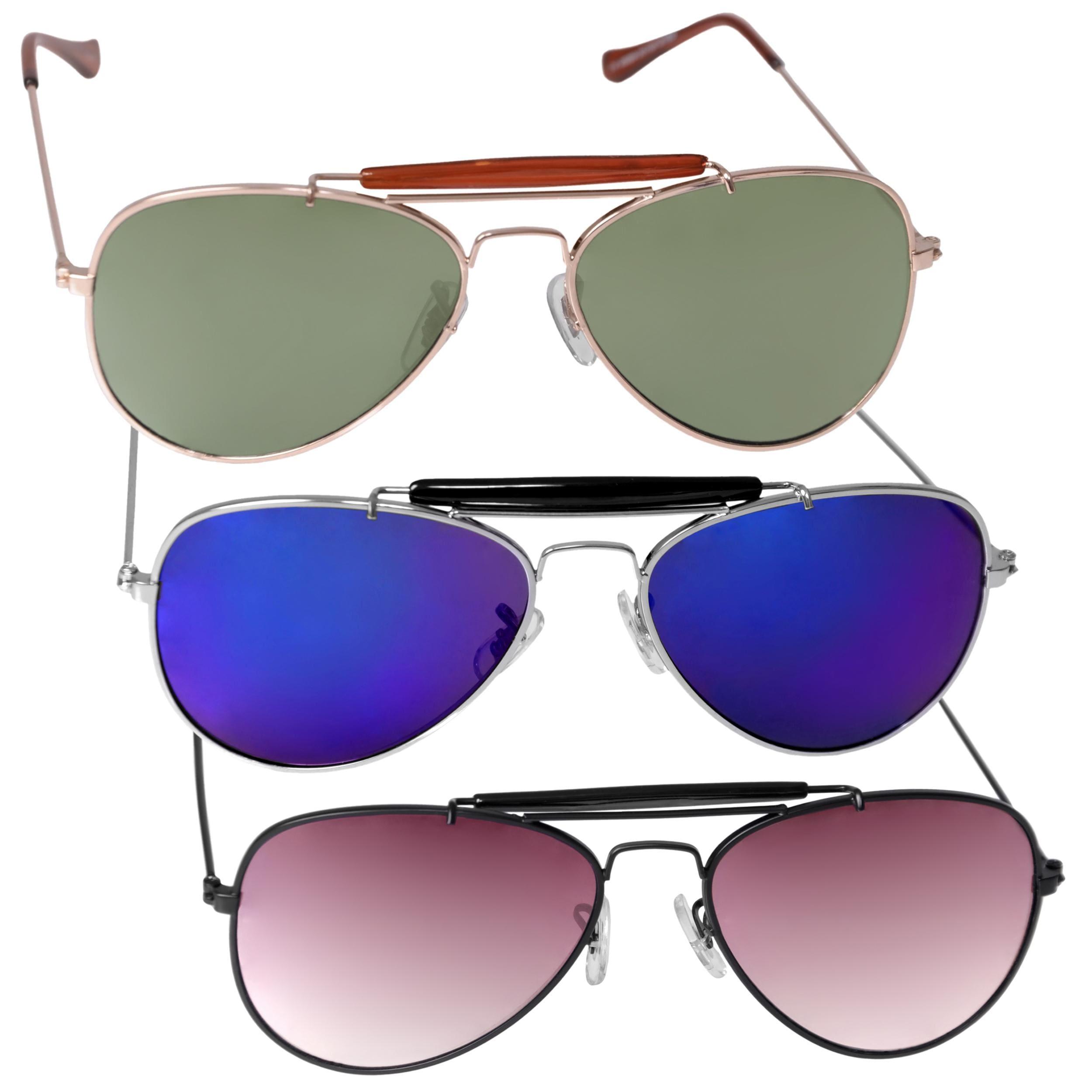 Adi Designs Unisex Aviator Sunglasses