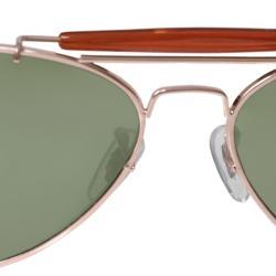 Adi Designs Unisex Aviator Sunglasses - Thumbnail 2