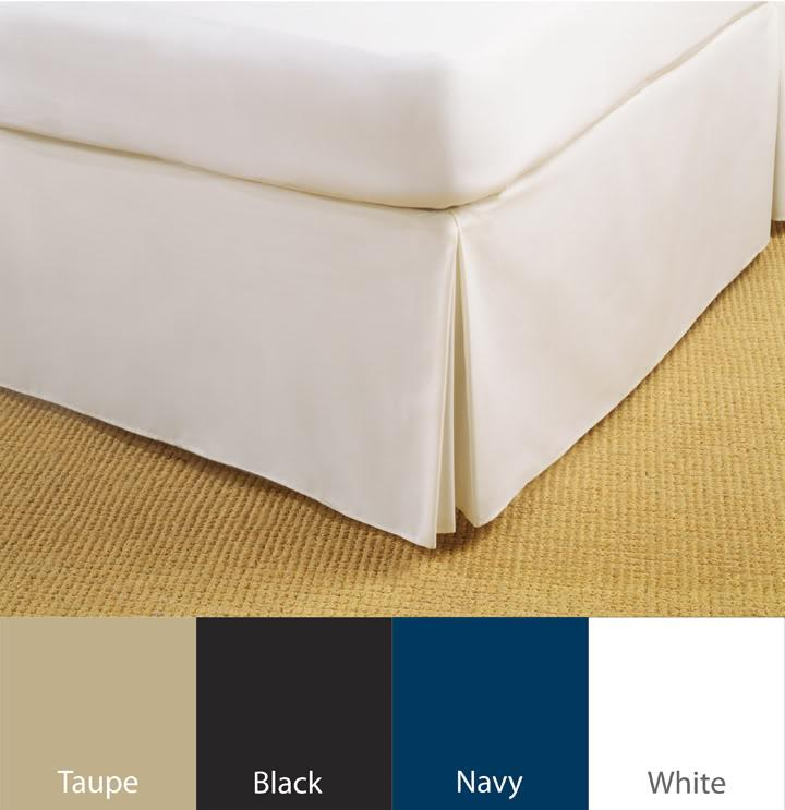 Tailored Poplin 14-inch Drop Daybed Skirt