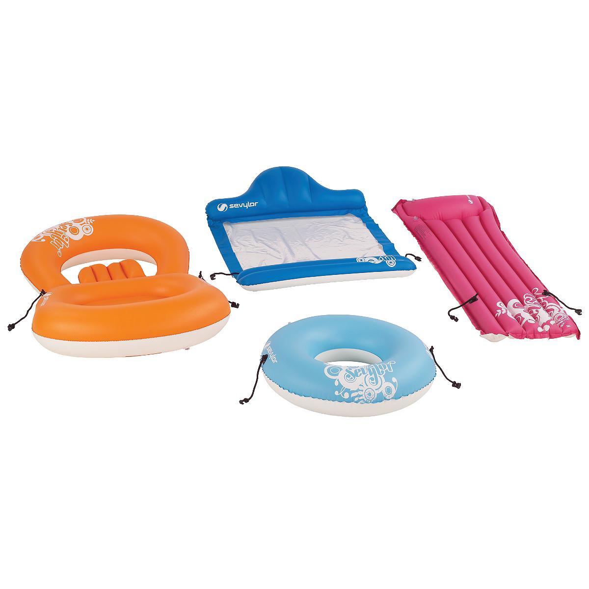 Shop Coleman Inflatable 4 Piece Pool Beach Set Free