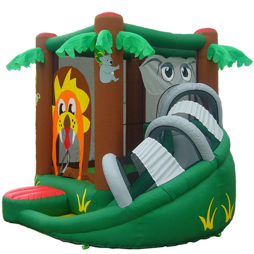 Shop Kidwise Safari Bouncer Inflatable Bounce House Free Shipping Today Overstock 5880145