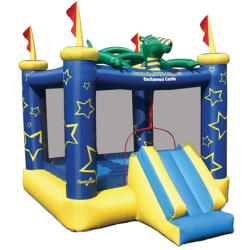KidWise Draco The Magic Dragon Inflatable Bounce House