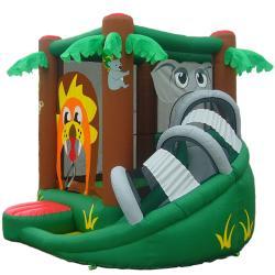 KidWise Safari Bouncer Inflatable Bounce House