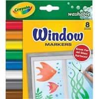 Crayola Crayola Washable Window Markers