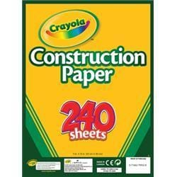Crayola Crayola Construction Paper Pad 9X12
