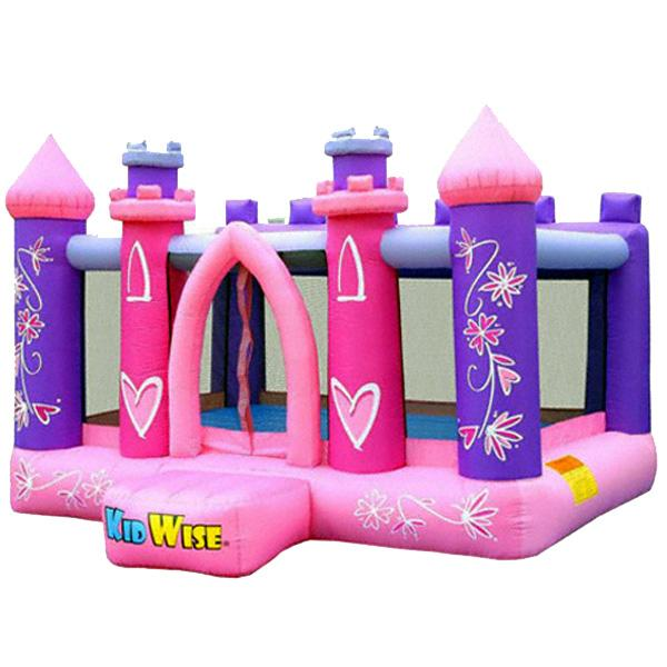 KidWise Pretty Princess Party Inflatable Oxford Nylon Bounce House
