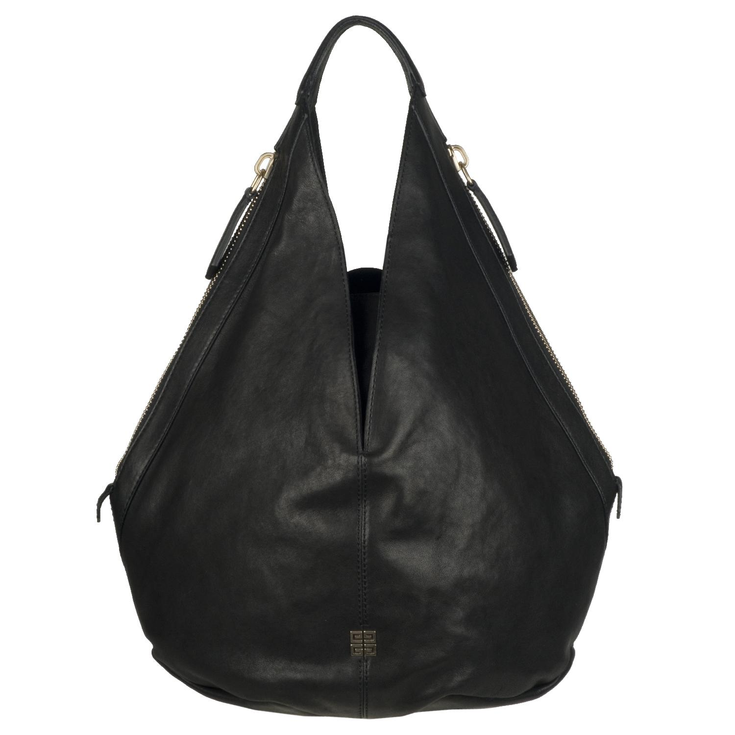 Givenchy Tinhan Black Leather Hobo Bag Free Shipping