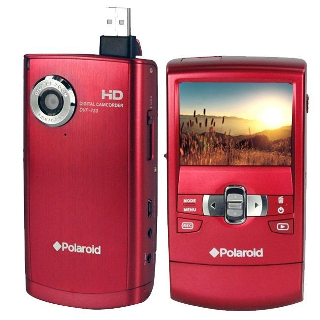 polaroid 720p hd camcorder manual