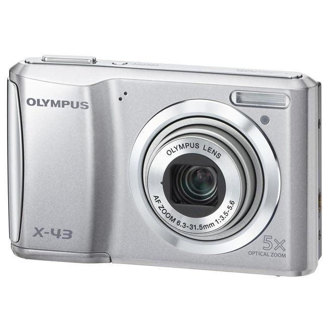 Olympus X-43 14MP Silver Digital Camera