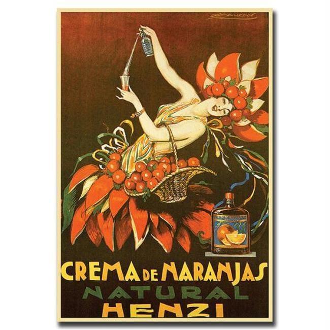 Crema De Naranjas Natural Henzi By Achille