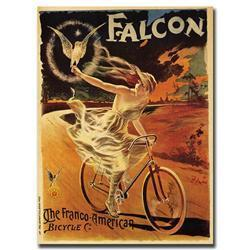 Falcon By Pal-Framed 18X24 Canvas Art