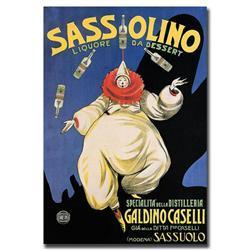Sassolino-Gallery Wrapped 24X32 Canvas Art