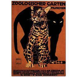 Zoologischer Garten Munchin By Ludwig-16X24