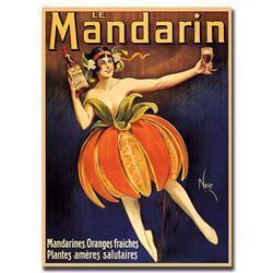Mandarin-Gallery Wrapped 24X32 Canvas Art