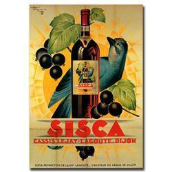 Sisca By Henry Le Monnier-Gallery Wrapped 24X32