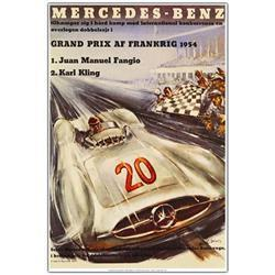 Mercedes Benz - 32X47 Canvas Art