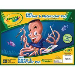 Crayola Crayola Giant Marker & Watercolor Pad