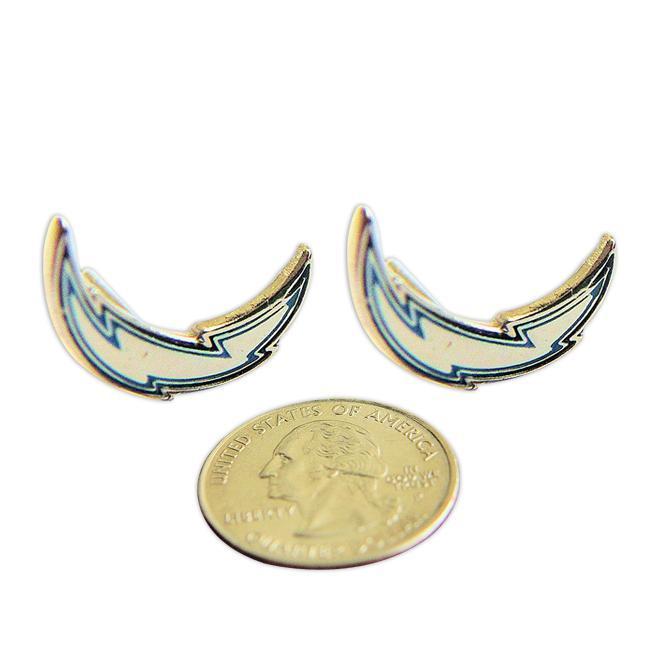 San Deigo Chargers Stud Logo Earrings