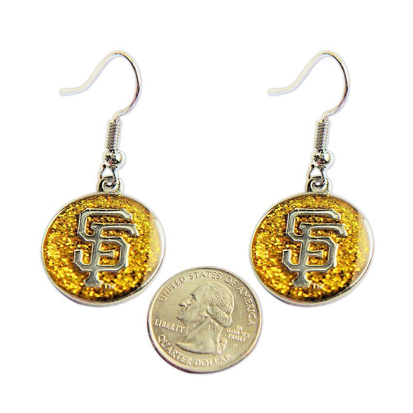 San Francisco Giants Dangle Logo Earrings