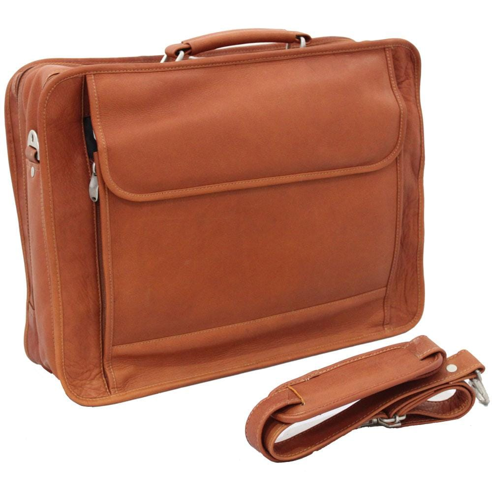 Vaquetta Handcrafted Top-grain Leather Briefcase
