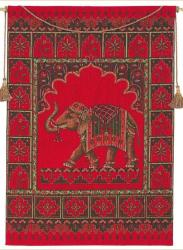 Magestic Elephant Tapestry Wall Hanging - Thumbnail 1
