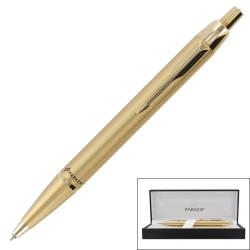 Parker IM Gold Retractable Medium Point Ballpoint Pen